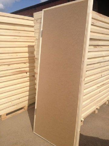УЦЕНКА!!! Дверь строительная оргалитовая 2000х600 мм с коробкой