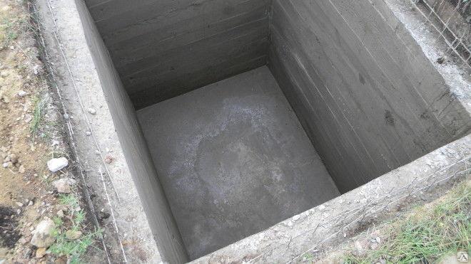 бетонный погреб фото