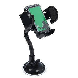 Держатель для телефона Держатель телефона автомобильный поворотный на гибкой штанге 42-113мм TORSO Крепика дом крепежных материалов